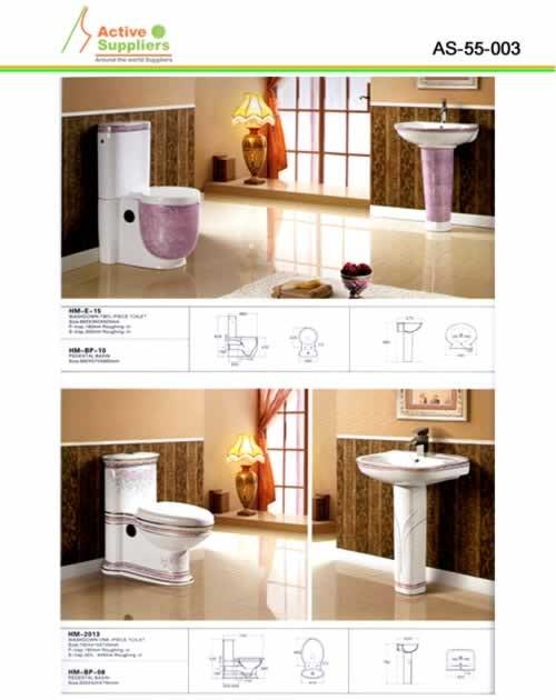 Lavamanos e inodoro proveedor as 55 porcelana sanitaria for Porcelana sanitaria