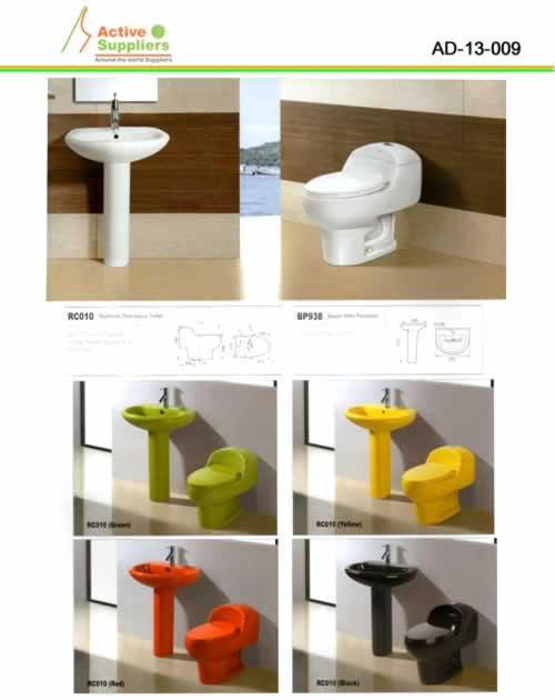 Sanitarios y lavamanos proveedor ad 13 porcelana sanitaria for Porcelana sanitaria