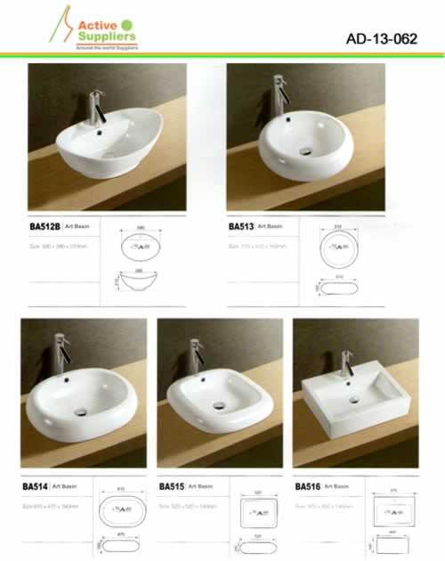 Lavamanos proveedor ad 13 porcelana sanitaria for Porcelana sanitaria