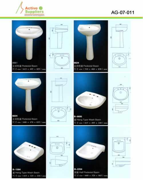lavamanos porcelana sanitaria